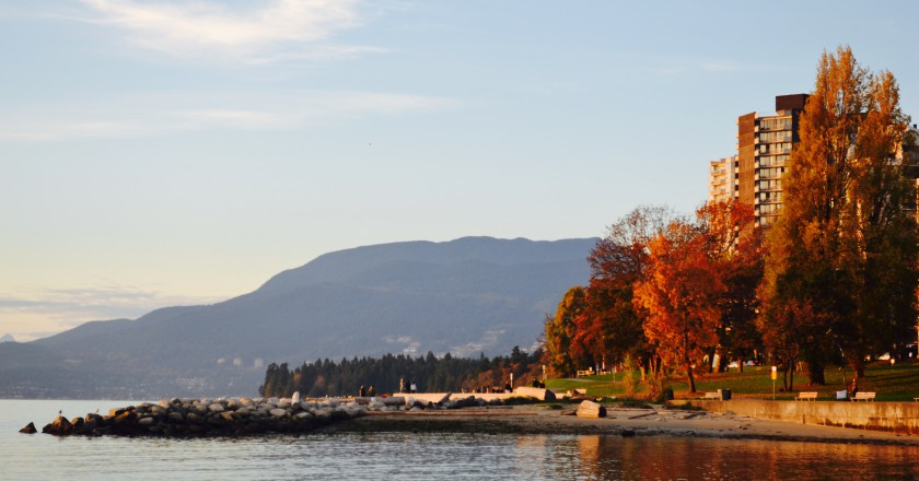 Sunset on Vancouver's West End
