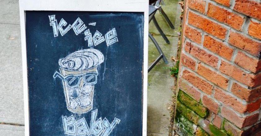 Buzz Cafe Chalkboard