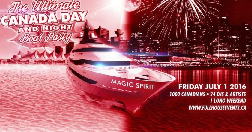 The Ultimate Canada Day Boat Party event