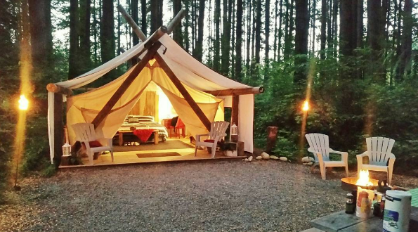 7 Places To Get Your Glamp On Populist