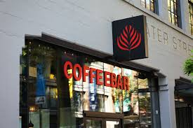 Exterior of The Coffee Bar in Gastown