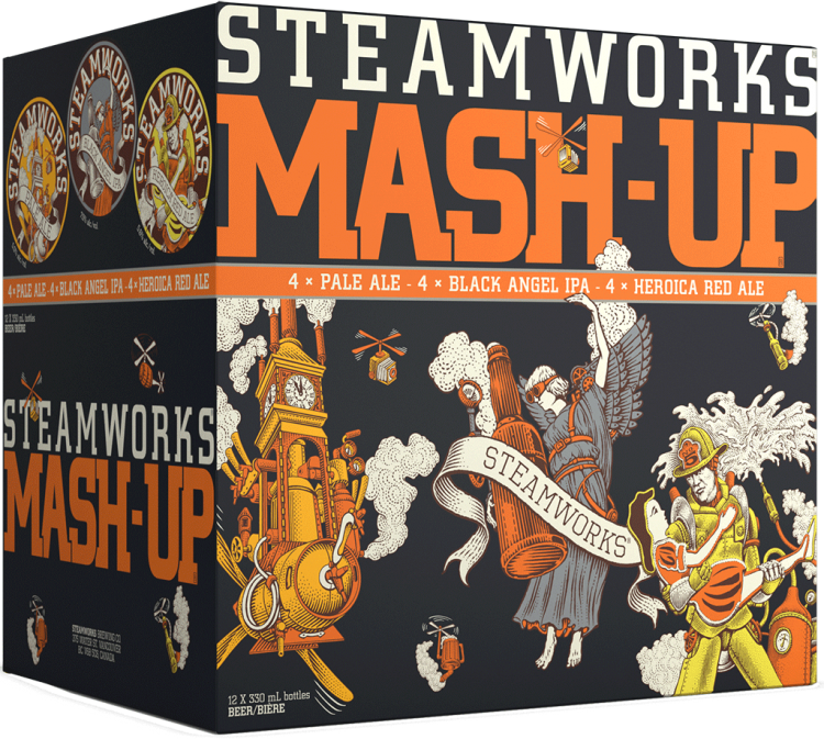 craft beer from Steamworks Brewery