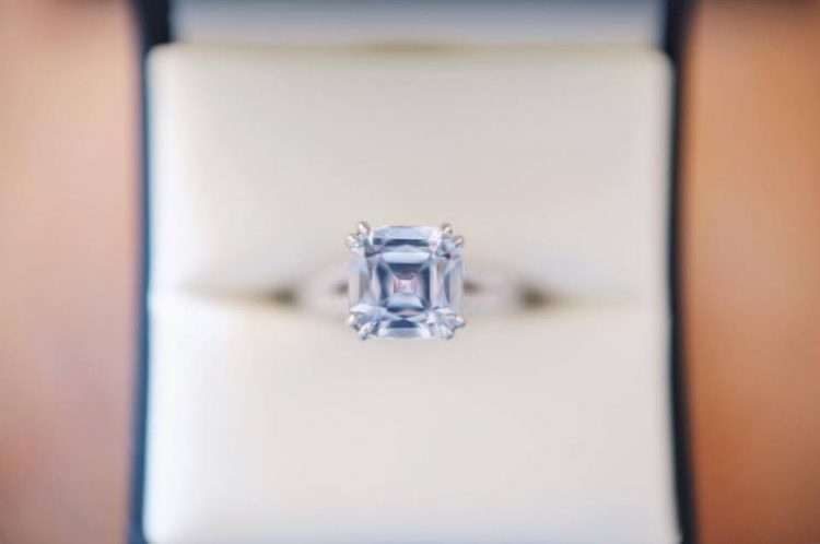 Cavalier Diamond ring