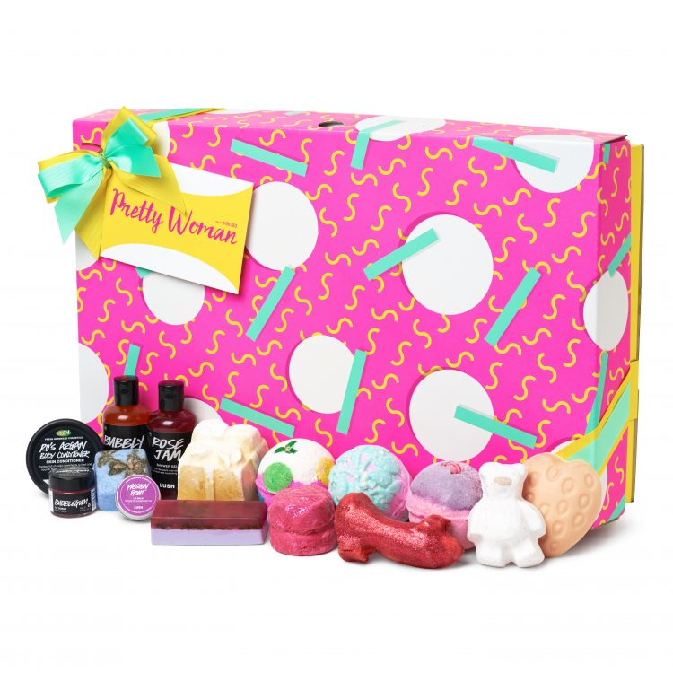 Pretty Woman git set from Lush Cosmetics
