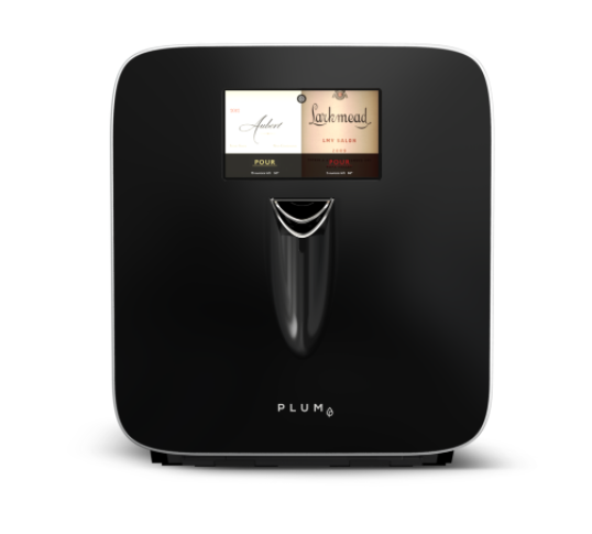 Plume wine appliance