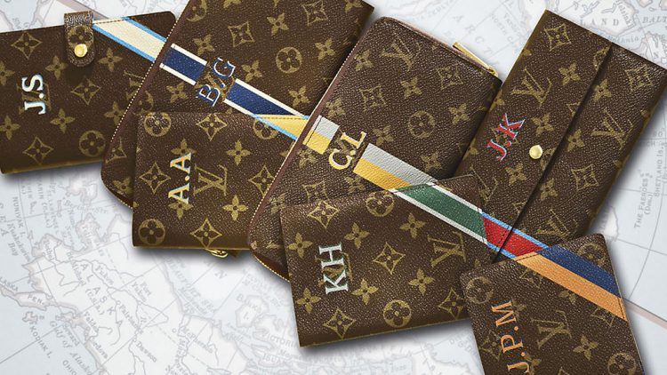 monogrammed Louis Vuitton merchandise