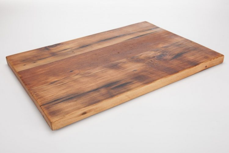 reclaimed wood board from Vancouver company Made by Pacific