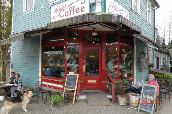 Arbutus Coffee house in Vancouver