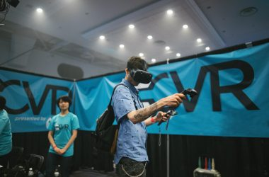 attendee at CVR 2017, Canada's biggest Virtual Reality and Augmented Reality Conference
