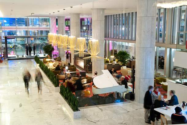 Lobby Lounge at Fairmont Pacific Rim Hotel