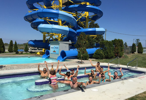 book a group package at Big Splash Water Park