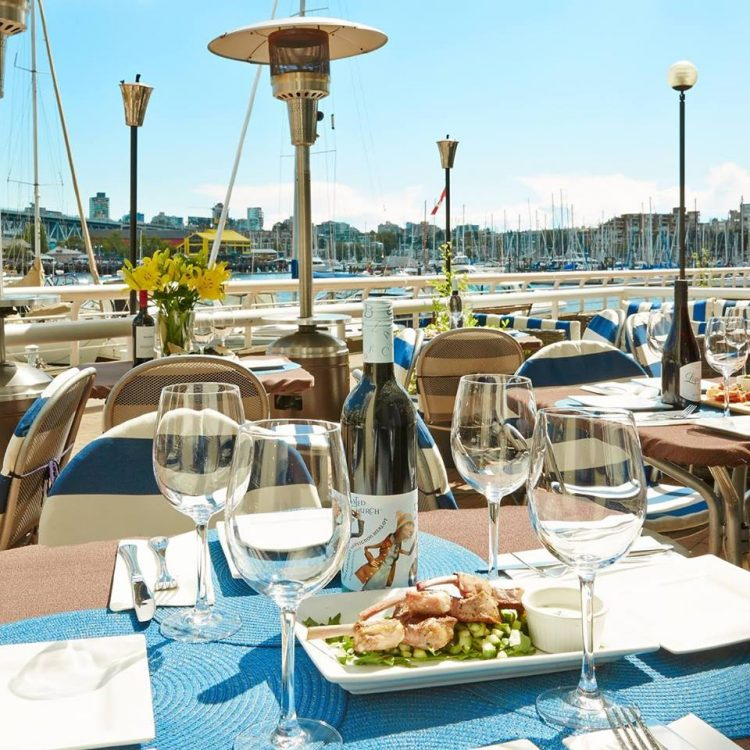 tapas with a waterfront view at Ten Ten Tapas
