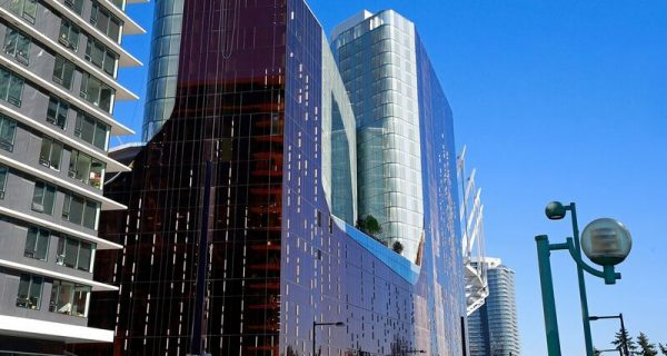 exterior of Parq Vancouver
