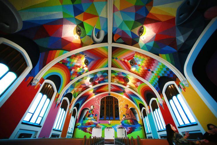okuda art church of cannabis