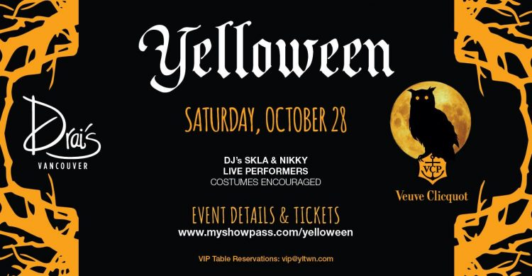 yelloween 2017 event poster