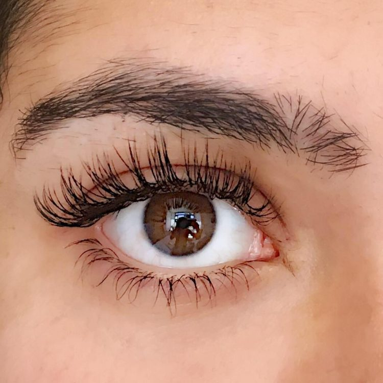 eyelash extensions by Lashes by Karen