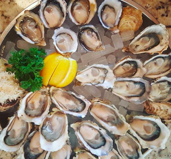 Oysters from Oyster Express in Chinatown