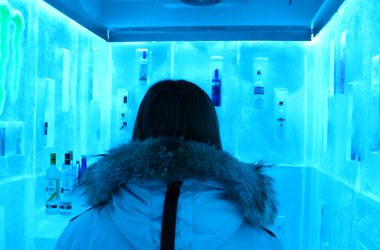 vodka ice room in whistler