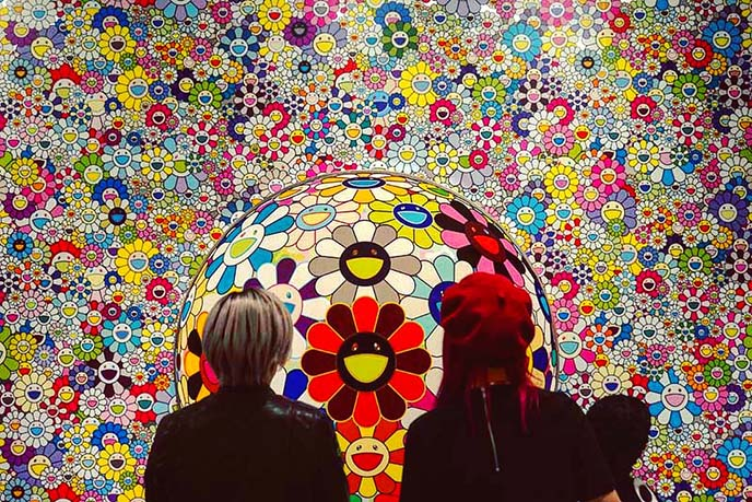 Takashi Murakami exhibit at Vancouver Art Gallery