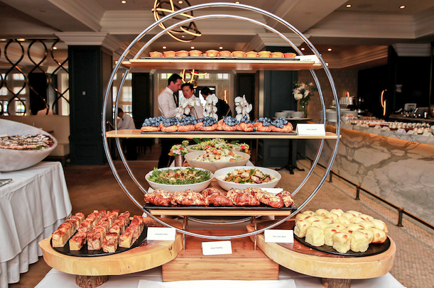brunch buffet and Boulevard Kitchen and Oyster Bar