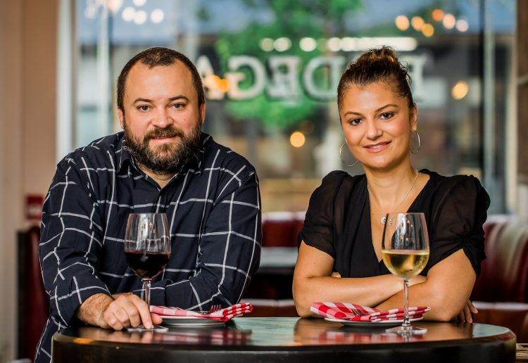 Paul and Natalie Rivas, owners of Bodega on Main