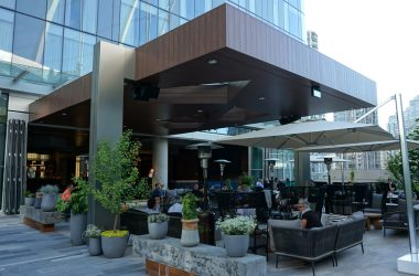 d6 lounge and patio at parq vancouver